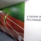 Баннер интерьерный в офис c УФ печатью-3