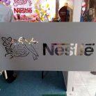 Брендирование дверей в офисе Nestle-4