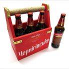 Брендированый ящик для пива Черниговское-2