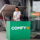 Брендирование dj-стойки Comfy-1