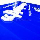 Акриловая табличка на держателях с отрывом-3