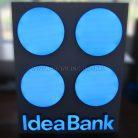 Внутренняя квадратная вывеска Idea Bank-1