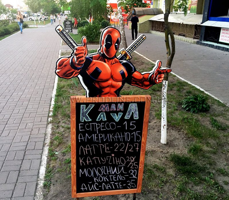 Штендер Spiderman