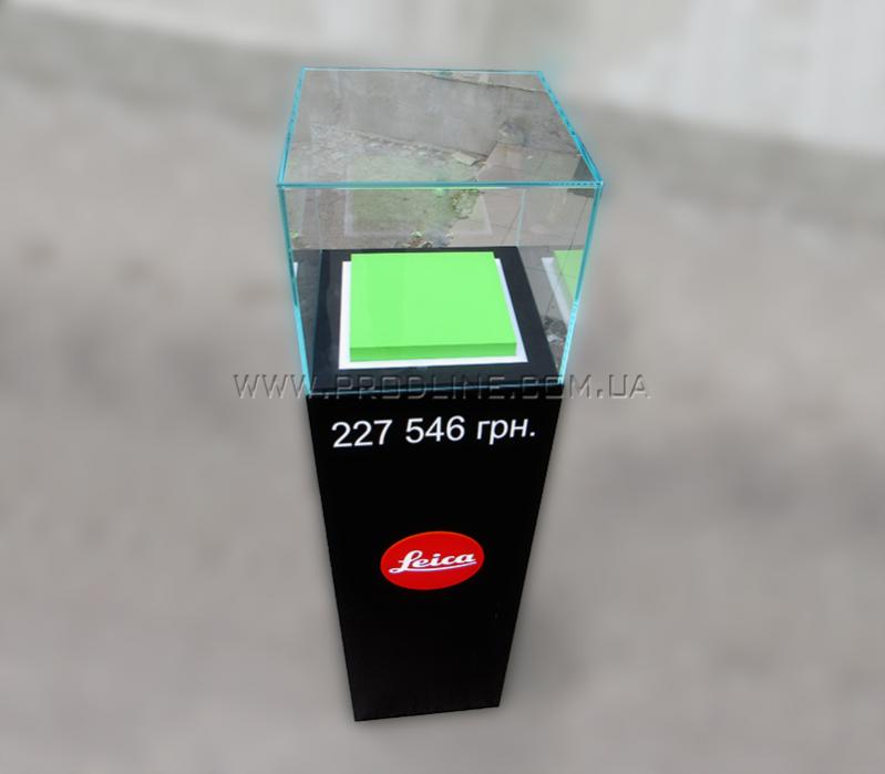 Напольный дисплей-стела с подсветкой