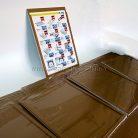 Мини инфостенд на один карман для информационной листовки А4-2