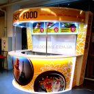 Торговый островок Fast Food в торговом центре-1
