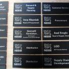 Таблички офисные на двери Nestle-2