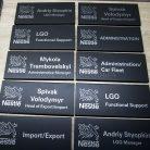Таблички офисные на двери Nestle-4