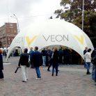 Брендирование уличного шатра Veon-2