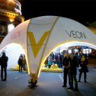 Брендирование уличного шатра Veon-4