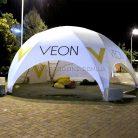Брендирование уличного шатра Veon-3