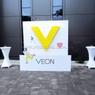 Фотозона Veon с прожекторами-2