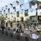 Зеркальная инсталляция-фотозона Veon-3