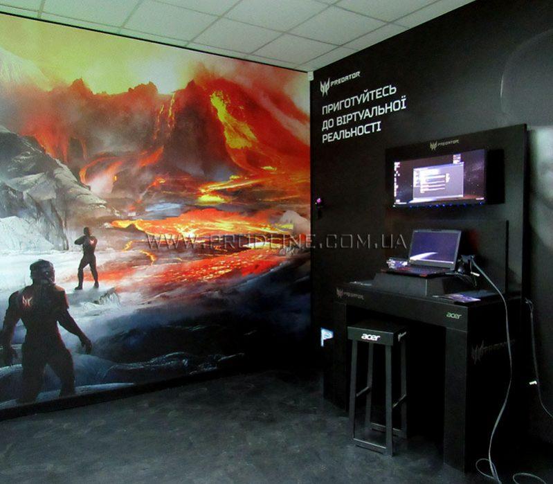 Бреннд-зона виртуальной реальности в магазине Rozetka